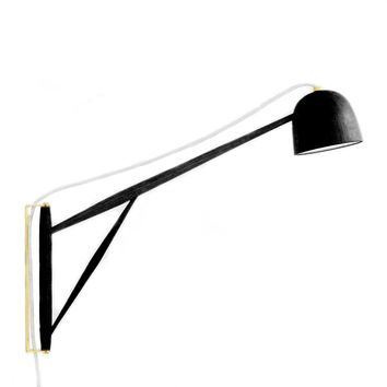 Crane, swing wall lamp.