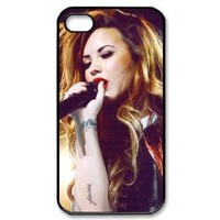 Demi Lovato Hard Case Back Cover for iphone 4 4s