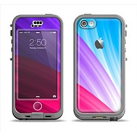 The Radiant Color-Swirls Apple iPhone 5c LifeProof Nuud Case Skin Set