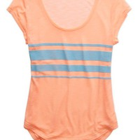 Aerie Women's Textured Stripe T-shirt