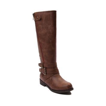 Womens Madden Girl Cristy 2 Wide Calf Boot