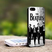 The Beatles Vintage - For iPhone 5 Black Case Cover