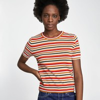 TOP WITH COLOURED STRIPESDETAILS