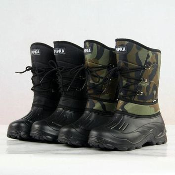 ac DCK83Q On Sale Hot Deal Anti-skid Fishing Shoes Waterproof Skiing Boots [118134734873]