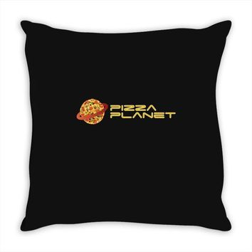 Pizza Planet Throw Pillow