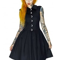 Dr Faust Luna Gothic Dress | Attitude Clothing