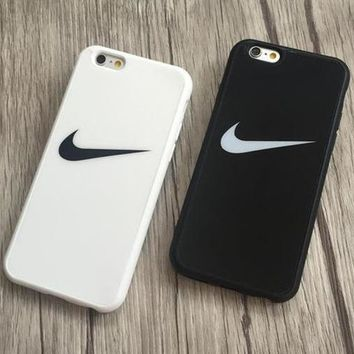 NIKE Popular Print iPhone X XR XS XS MAX 6 6s 6Plus 6sPlus 7 7Plus 8 8plus Phone Cover Case