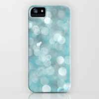 Aqua Bubbles iPhone & iPod Case by Shawn King