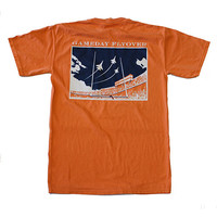 State Traditions Gameday Flyover T-Shirt Orange and Navy