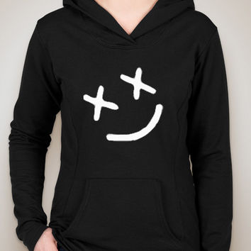 "Louis Tomlinson ""Smiley Face"" Tattoo Unisex Adult Hoodie Sweatshirt"