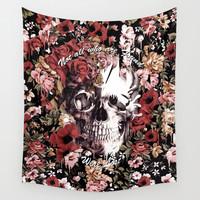 Not all who are found were Lost Wall Tapestry by Kristy Patterson Design