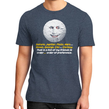Mighty boosh the moon District T-Shirt (on man)
