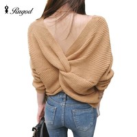 New Sexy Off Shoulder Sweater
