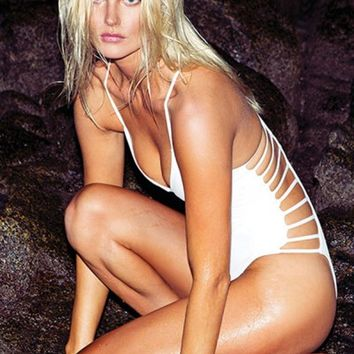 Wild Side White One Piece