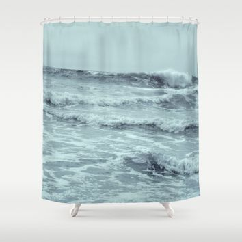 CR(w)AVE Shower Curtain by Ducky B