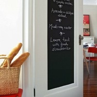Fancy-fix Vinyl Peel and Stick Chalkboard Sticker with 5 Free Chalks 17.7 By 78.7 Inches