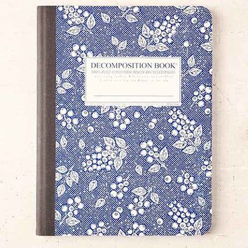 Decomposition Book Blueberry Notebook- Blue One