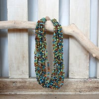 Bold Beaded Necklace