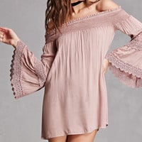 Boho Me Off-the-Shoulder Dress