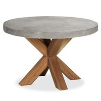 Abbott Concrete Top Round Dining Table