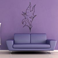 Maleficent Wall Decal