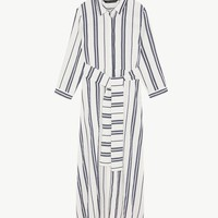 LONG STRIPED TUNIC DETAILS