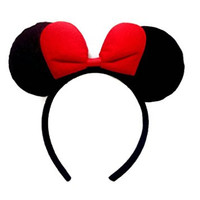 Disney Minnie Mouse Ear Headband :M4 (Red)
