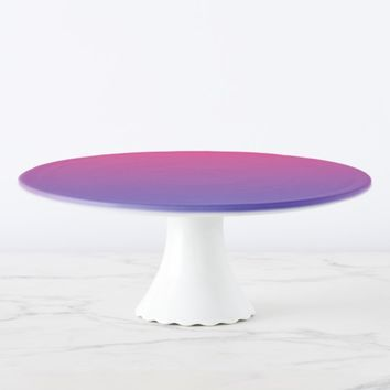 Pink and Purple Gradient Colors Cake Stand