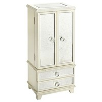 Hayworth Jewelry Box - Antique White