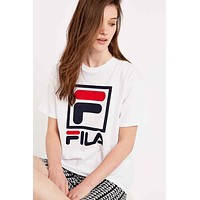 Trendsetter FILA Women Men Fashion Casual Shirt Top Tee