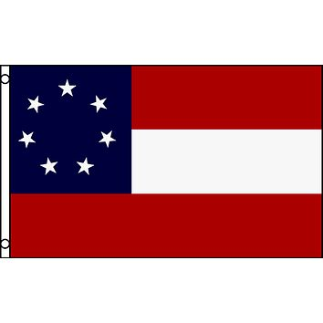 1st National Flag - 5x8 Poly