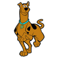 Scooby Doo Prints Self-Stick Wall Accent Stickers Set