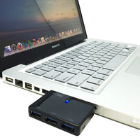 Combo, 3 Port USB 3.0 HUB, Memory Card Reader Writer for Macbook, Laptop, PC, Mac Pro