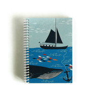 Notebook Spiral Bound: The Sea (4 x 6)