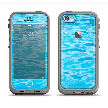 The Crystal Clear Water Apple iPhone 5c LifeProof Fre Case Skin Set