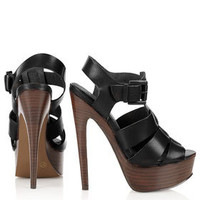 LIBERTY Wooden High Sandals - Heels  - Shoes