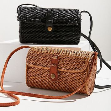 Ida Straw Crossbody Bag | Urban Outfitters