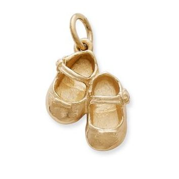 Lil' Girl Baby Shoes Charm | James Avery