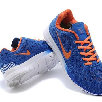 """""""Nike Free 5.0 TR Fit 3"""" Unisex Sport Casual Bird's Nest Breathable Barefoot Sneakers Couple Running Shoes"""