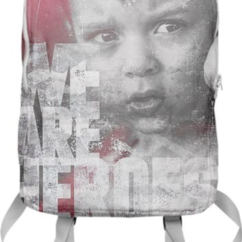 Hero Sessions III - Backpack created by HappyMelvin | Print All Over Me