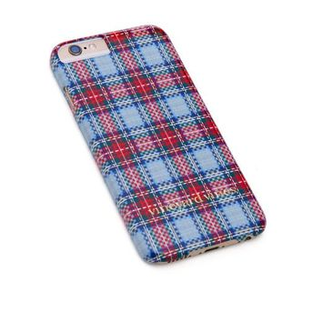 Vineyard Tartan iPhone 6 Case