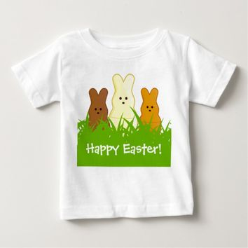 Cute Easter Bunnies Baby Fine Jersey T-Shirt