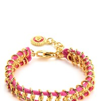 Chain And Cord Bracelet by Juicy Couture
