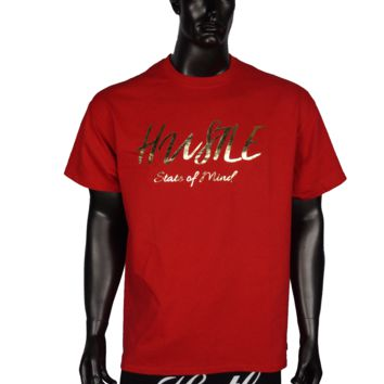 T-Shirt - Blood Red Hustle State of Mind
