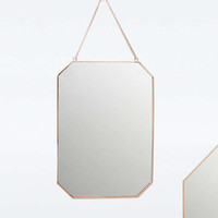 Copper Rectangle Hanging Mirror - Urban Outfitters