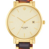 Women's kate spade new york 'gramercy' resin link bracelet watch, 38mm