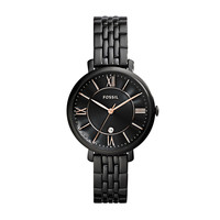 Jacqueline Three-Hand Watch, Black