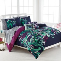 Clearance - Roxy Splash Full/Queen Duvet Set by Roxy Bedding: The Home Decorating Company