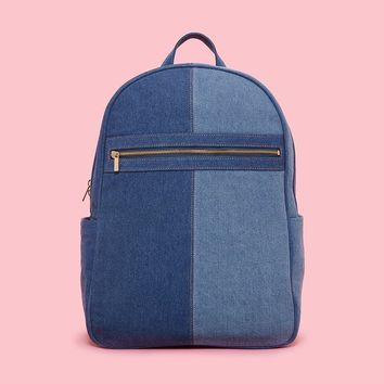 Get it Together Backpack- Denim