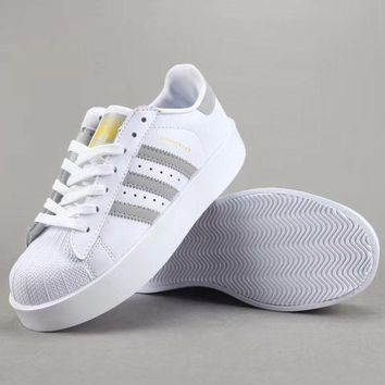 Adidas Superstar Bold W Women Men Fashion Casual Old Skool Low-Top Shoes